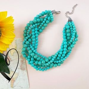 Jewelry - Turquoise Color Statement Necklace